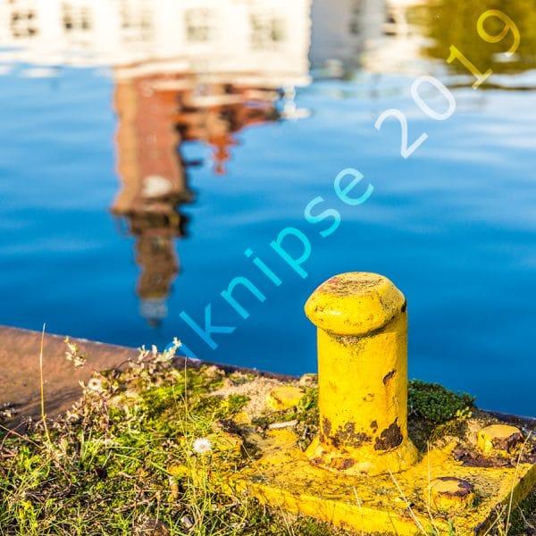 Spiegelung Hafenamt Dortmund
