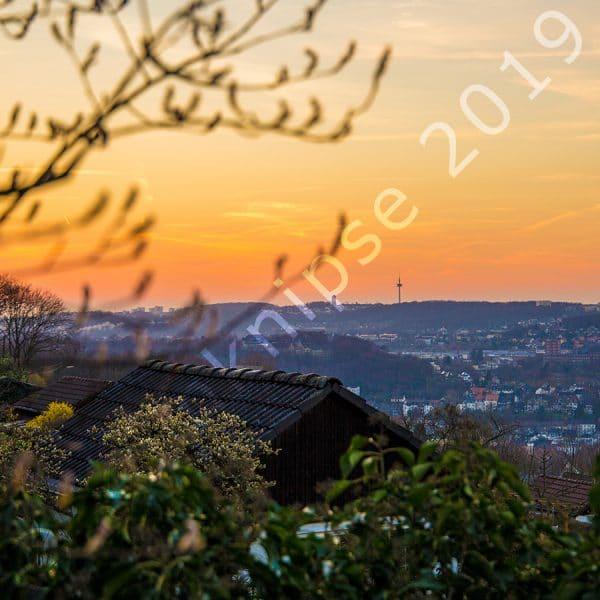 Blick über Wuppertal