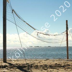 Beachvolleyball-Netz